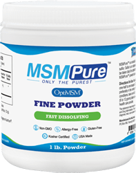 MSM Powder Fine Crystals for Healthy Aging