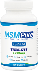 MSM Tablets 1000mg for Healthy Aging
