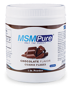 Chocolate flavored Coarse MSM Flakes