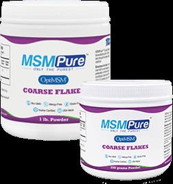 MSM Powder Coarse Flakes