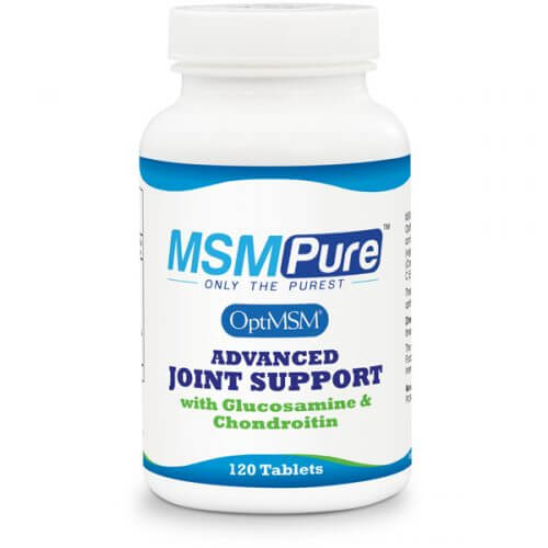 MSM Advanced Joint Support Tablets