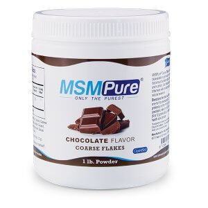 MSMPure Chocolate flavor Coarse MSM Flakes