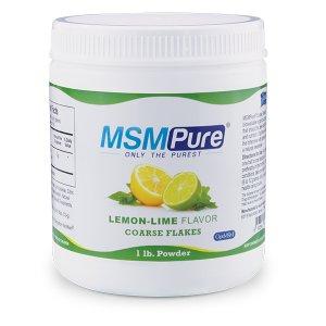 MSMPure Lemon-Lime flavor Coarse MSM Flakes