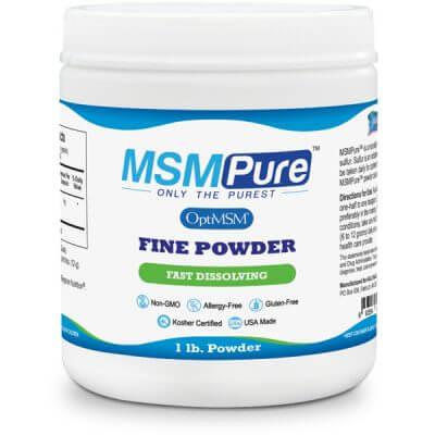 MSMPure MSM Powder Fine Crystals
