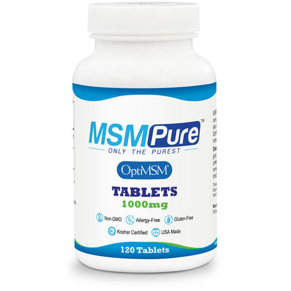 MSM Tablets 1000mg Methylsulfonylmethane