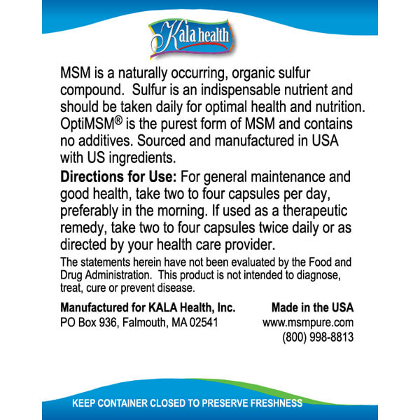 MSM Vegetarian Capsules