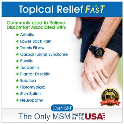 Muscle & Joint Cream for muscle aches and soreness