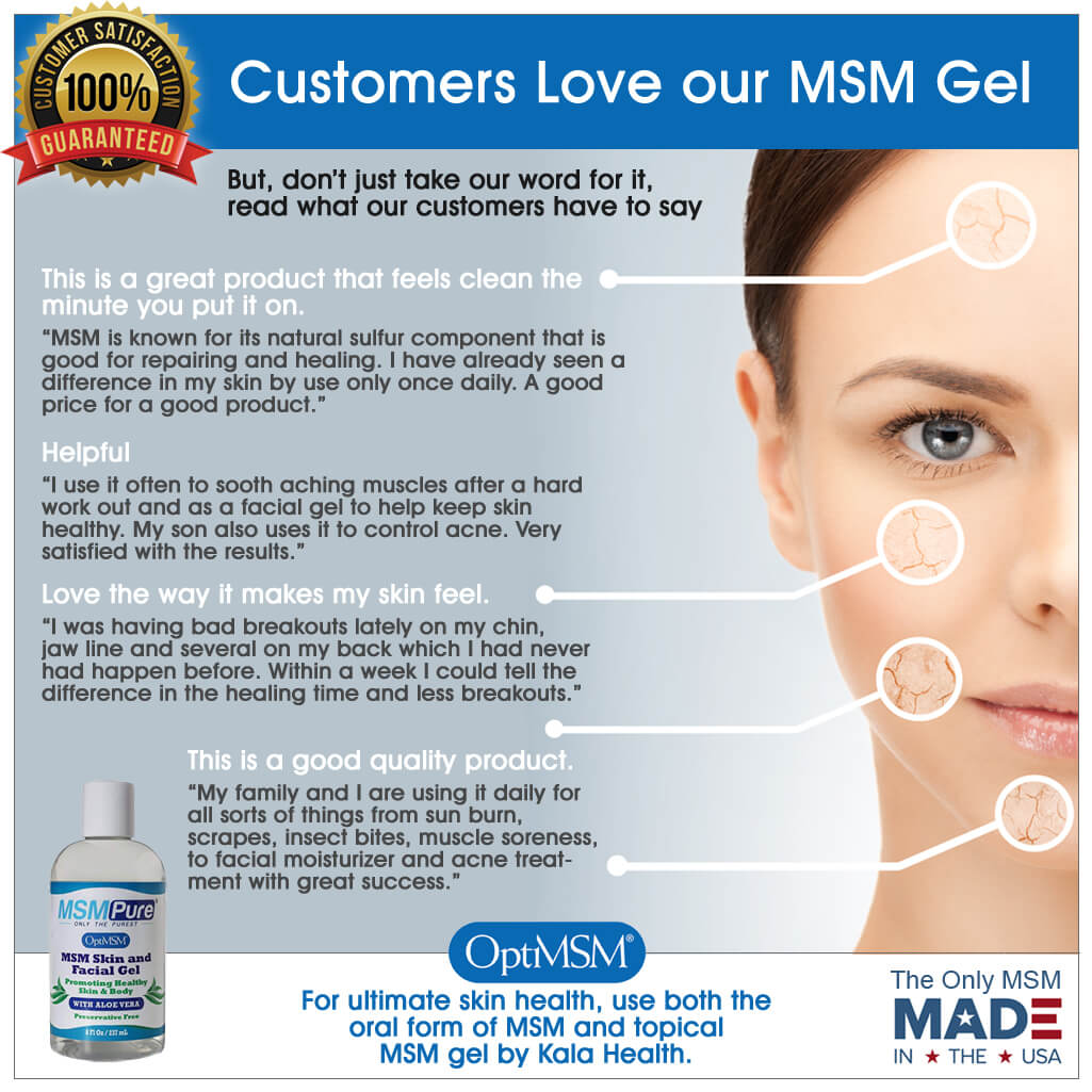 MSM Skin & Facial Gel