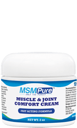 MSM Muscle & Joint Cream relieves soreness